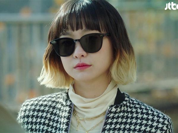 Gaya Stylish Padukan Motif Kotak-kotak Ala Jo Yi Seo 'Itaewon Class'