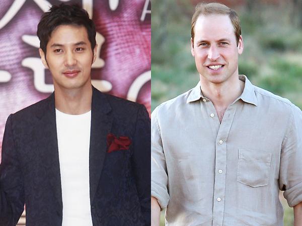 Aktor Kim Ji Suk Ceritakan Pengalaman Renang Bareng Pangeran William