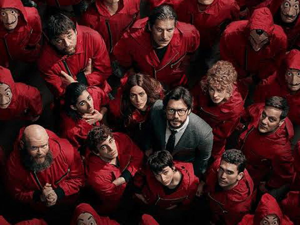 Serial Netflix Money Heist Akan Dibuat Versi Korea?