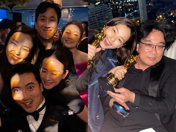 Selebriti Korea Rayakan Kemenangan Film Parasite di Oscars, Sampai Gelar Nonton Bareng