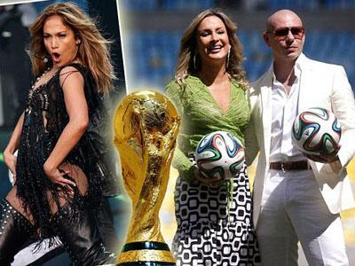 Pitbull dan Jennifer Lopez akan Nyanyikan Lagu Resmi Piala Dunia 2014!