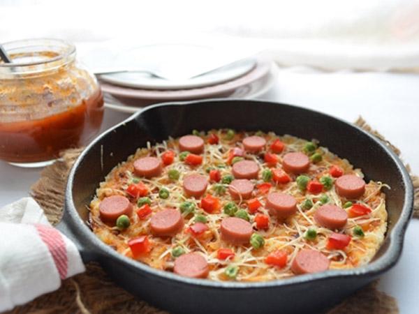 Murah Meriah, Begini Resep Buat Pizza dari Nasi