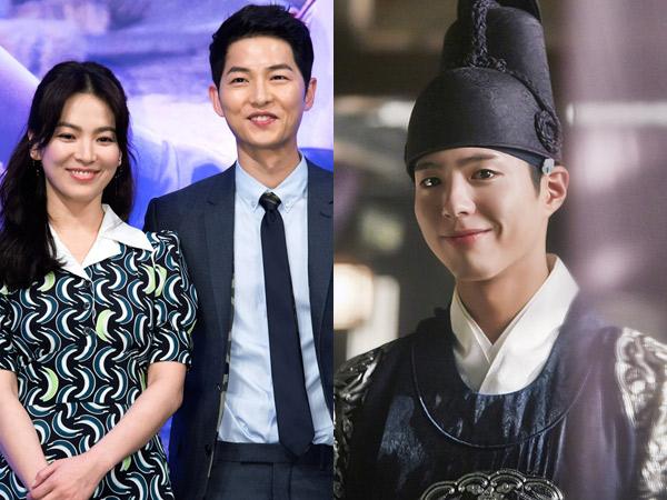 Kompak, Song-Song Couple Kirim Dukungan Bareng Untuk Drama Park Bo Gum