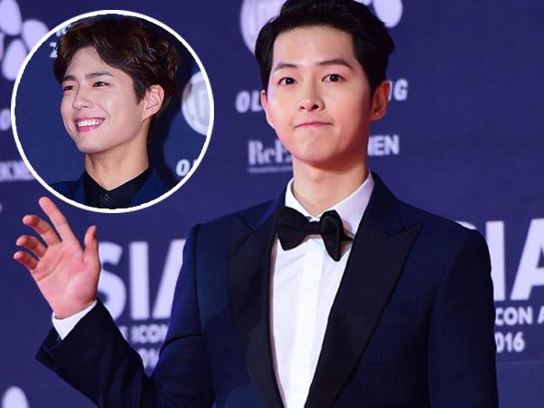 Dapat Pelajaran Penting, Song Joong Ki Beri Julukan Khusus untuk Park Bo Gum?