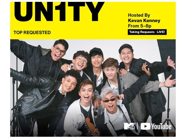 Bikin Bangga, Boyband UN1TY dapat Penghargaan dari MTV Amerika