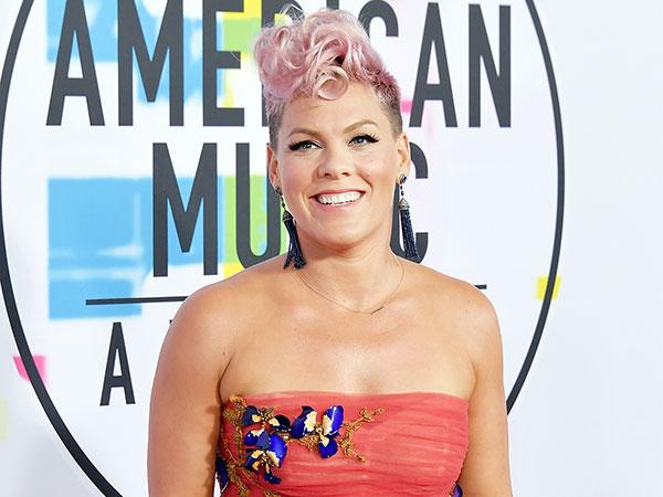 Reaksi Pink Saat Dituding Tak Suka Penampilan Christina Aguilera di American Music Awards 2017