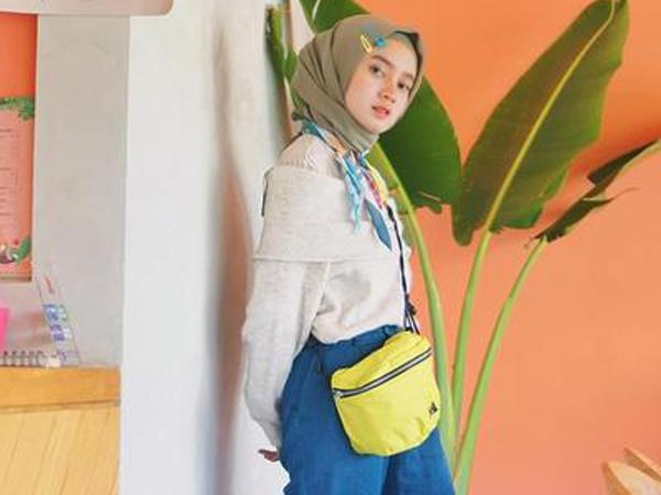 Yuk Ikuti Tren Unik Hijab Pakai Jepit Rambut Ala Selebgram!
