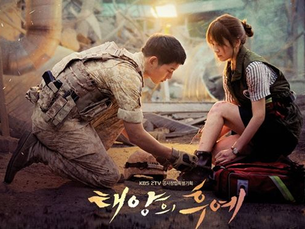 Wow, Rating Episode Dua Terakhir Drama 'Descendants Of The Sun'  Semakin Meroket!