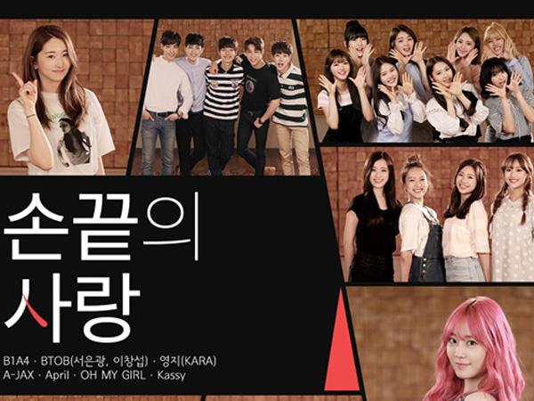 Berbagai Grup K-Pop Berkumpul Nyanyikan Lagu Lawan Aksi Cyber Bullying di MV Ini