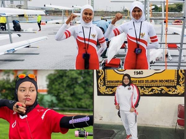Profil 4 Atlet Wanita Berhijab Wakil Indonesia di Olimpiade Tokyo 2020