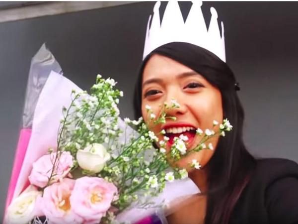 Hamil 8 Bulan, Anissa Aziza Jalani Sidang Skripsi di Bandung