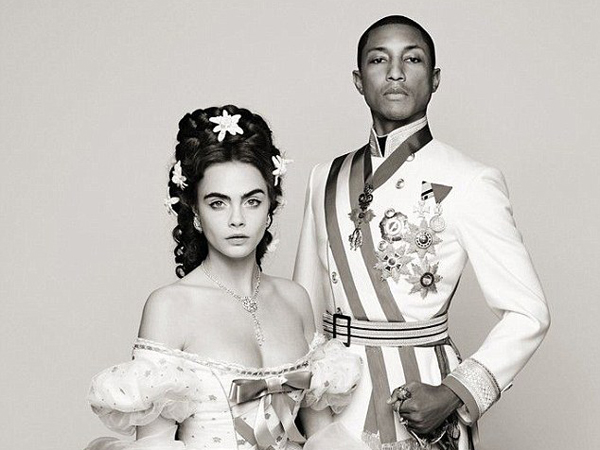 Ini Teaser MV Debut Model Cara Delevingne Bareng Pharrell Williams!