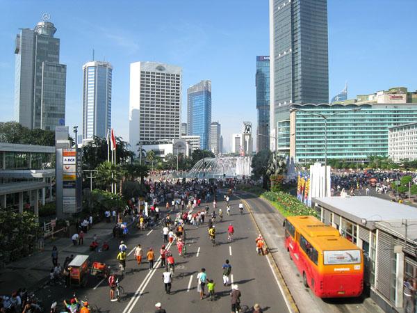 Rayakan Ultah ke-13, Banyak Panggung di CFD Jakarta Minggu Besok