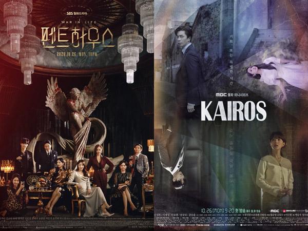 Perolehan Rating Drama Baru 'Penthouse' vs 'Kairos', Siapa Unggul?