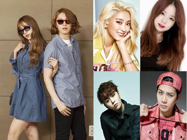 Jadi MC Tetap, Hani EXID dan Heechul Super Junior Ajak Para Sahabatnya di 'Weekly Idol'
