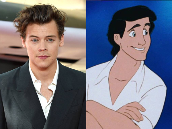 Harry Styles Tolak Peran Pangeran Eric di Film Live-Action 'The Little Mermaid'