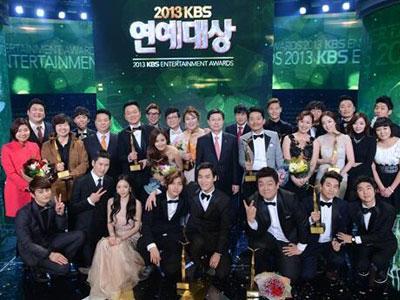 Inilah Para Pemenang Dalam KBS Entertainment Awards 2013
