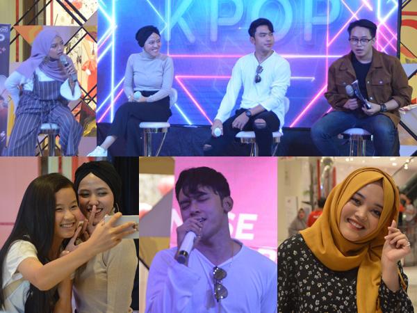 Penampilan Tiffani Afifa, Alif Rizky, Putri Delina Meriahkan Road to KPOPVAGANZA FESTIVAL 2019