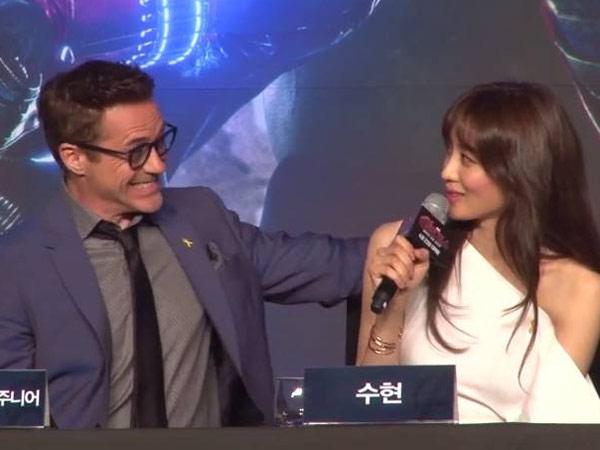 Robert Downey Jr Puji Akting Claudia Kim dan Aktor Korea Lainnya
