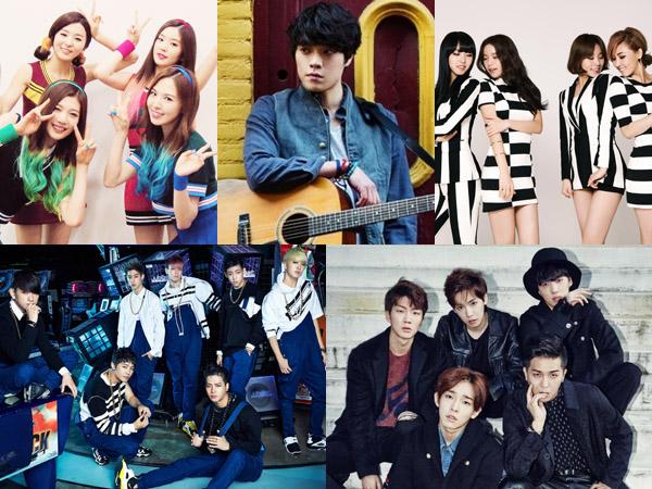 GOT7, WINNER, Hingga Lovelyz, Inilah Idola K-Pop Rookie Paling Bersinar di Tahun 2014