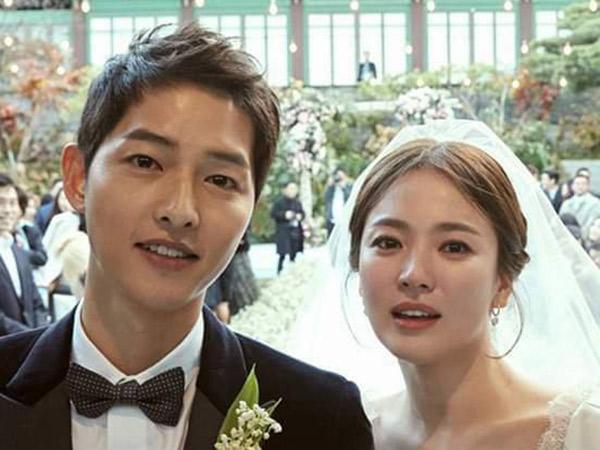 Song Joong Ki dan Song Hye Kyo Rayakan Satu Tahun Pernikahan, Begini Kisah Cinta Romantisnya