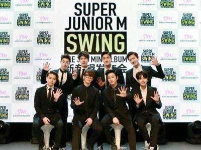 Super Junior-M Tunjukkan Aksi Komedi dalam Video Musik 'Swing'