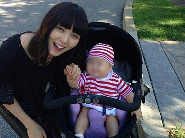 Sunye Wonder Girls Update Fans Dengan Foto Terbaru Bersama Anak Perempuannya