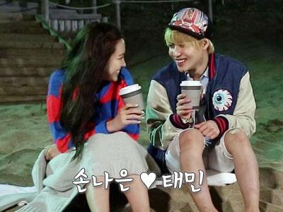 Taemin SHINee & Na Eun A-Pink Asyik Suap-Suapan di Kamar Tidur