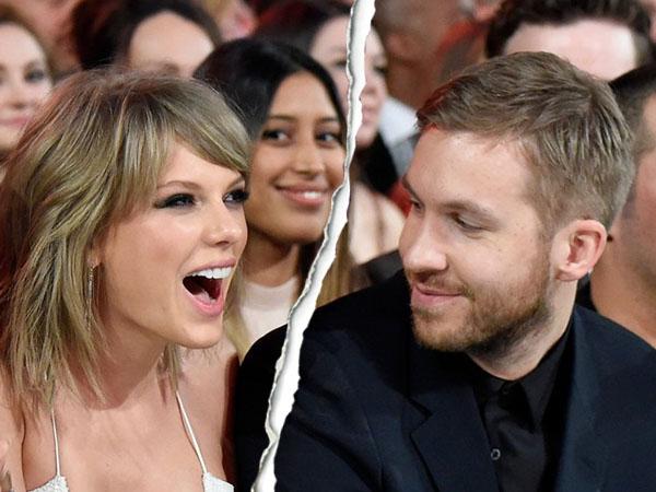 Taylor Swift dan Calvin Harris Putus, Fans Kecewa dan Marah!