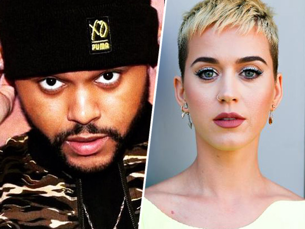 The Weeknd Kepergok Makan Malam Bareng Katy Perry, Dinner Romantis?