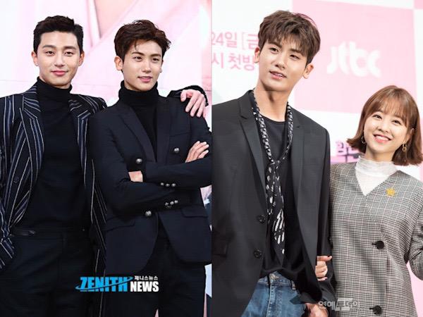 Park Hyung Sik Kirim Dukungan ke Lokasi Syuting Film Park Seo Joon dan Park Bo Young