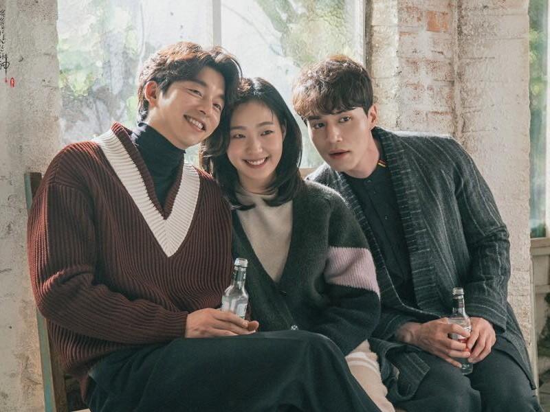 Gong Yoo dan Lee Dong Wook Kirim Dukungan ke Lokasi Syuting Kim Go Eun