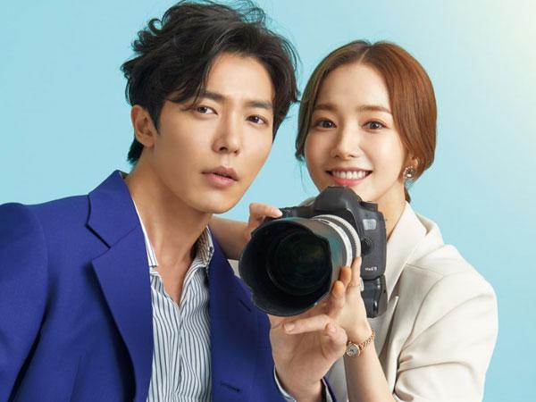 Potret Park Min Young Jadi Fangirl dan Si Bos Tsundere Kim Jae Wook di Poster 'Her Private Life'