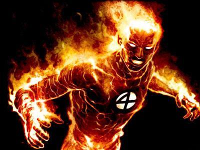 Michael B Jordan, Perankan Human Torch Kulit Hitam