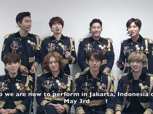 Jelang Super Show 6 Jakarta, Ini Sapaan Super Junior untuk ELF Indonesia!