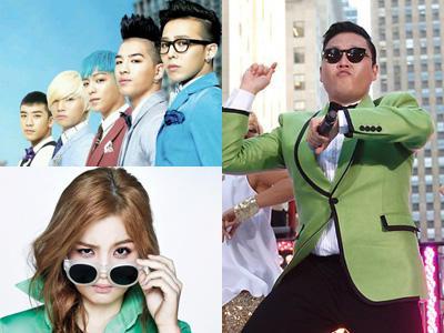 YG Entertainment Kuasai Panggung Musik di Tahun 2012