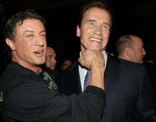 Arnold dan Stallone Bakal Akting Bareng