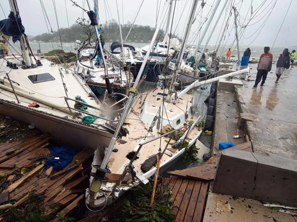 10 WNI Selamat dari Terjangan Badai Tropis Pam di Vanuatu