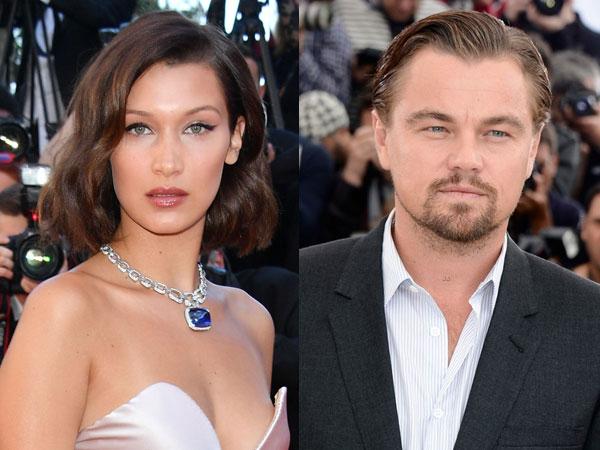 Diam-diam Bella Hadid Naksir Leonardo DiCaprio?