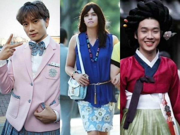 Para Aktor Tampan Korea Ini Bertransformasi Jadi Wanita Cantik dalam Drama!
