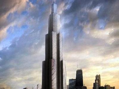 Hanya 3 Bulan, China Bangun Gedung Tertinggi di Dunia