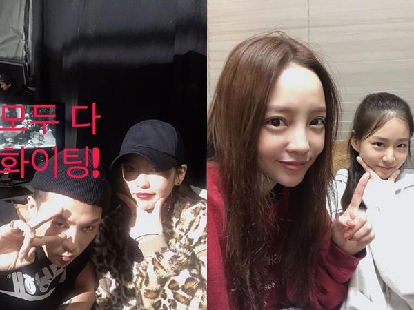 Goo Hara Sempat Bertemu G-Dragon dan Han Seungyeon Sebelum Meninggal Dunia