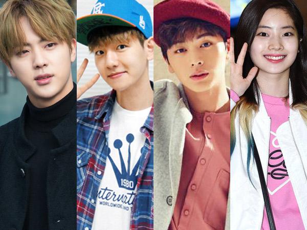 Jin BTS Hingga Baekhyun EXO, Intip Aksi Adu Masak Para Idola K-Pop di 'Idol Chef  King'