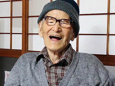 Pria Tertua di Dunia Meninggal di Jepang