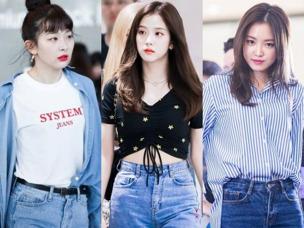Buat Penampilan Lebih Kece Dengan Mix And Match Jeans Ala K-Pop Idols!