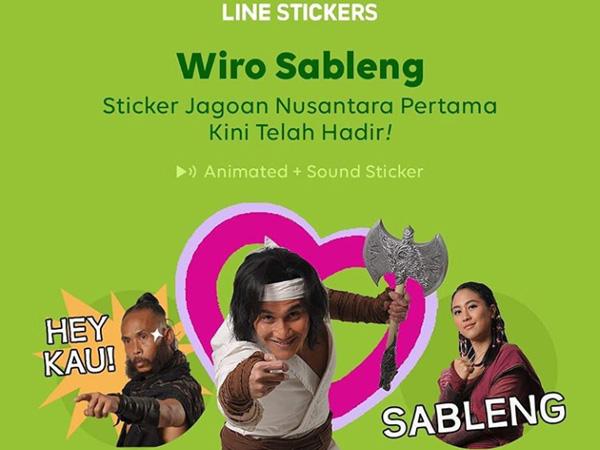 Sambut Film 'Wiro Sableng 212', LINE Rilis Stiker Animasi Bersuara!