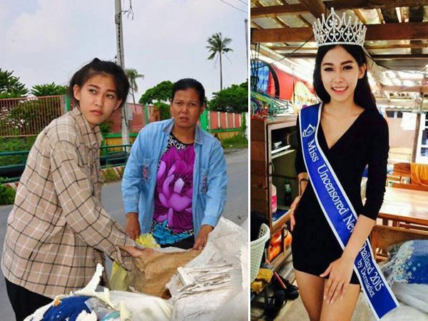 Gadis Pemulung Ini Sabet Gelar Juara di Kontes Kecantikan Thailand!