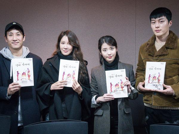 Lee Sun Gyun, IU, dan Pemain Drama 'My Ahjussi' Lainnya Hadiri Sesi Diskusi Naskah