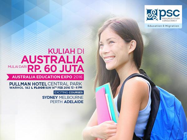 Mudah dan Terjangkau, 'Australia Education Expo' Buka Peluang Bisa Kuliah ke Australia!