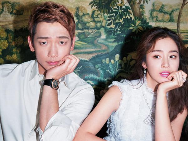 Rain Tolak Jawab Pertanyaan Soal Kim Tae Hee dan Anaknya di Depan Publik